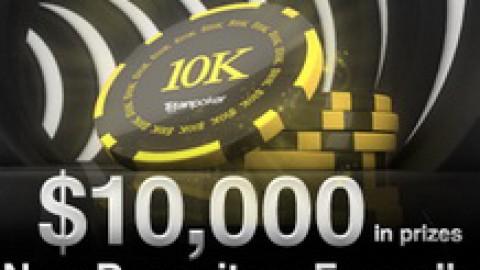 Фрироллы на $10000 для новых игроков на TitanPoker