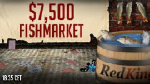FishMarket $7500 GTD на RedKings