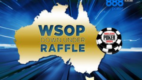 888poker>WSOP Down Under Raffle