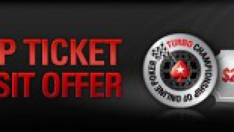 Релоад-бонус в честь TCOOP на PokerStars — билет номиналом $27