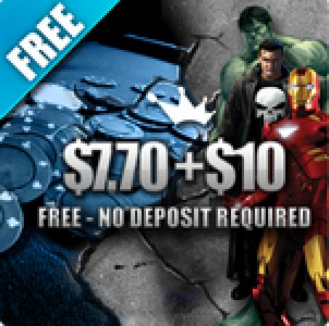 Бездепозитный бонус $17,7 на Poker770