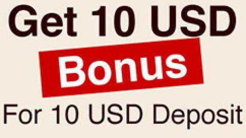Моментальный бонус $10 на 888poker