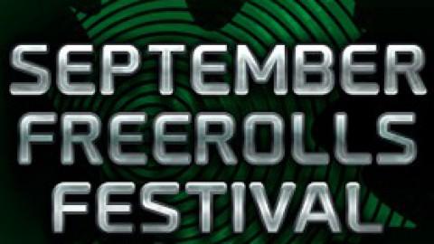 September Freerolls Festival