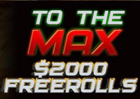 Фрироллы на $2000 на PokerMira