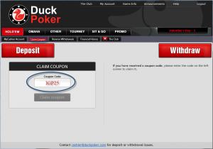 Duckpoker-bonus-code