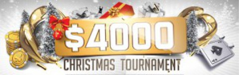 Бесплатный билет на $4000 Christmas Tournament