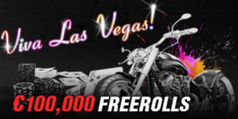 €100,000 Depositors Freerolls на Titan Poker